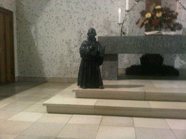 Luther in der Johanniskirche Frohnau