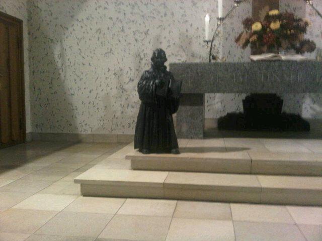Luther in der Johanniskirche Frohnau