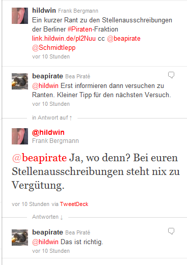 Transparenz-Tweets