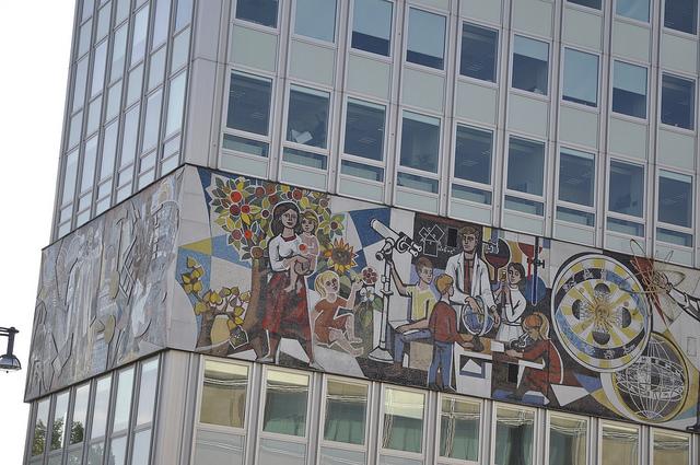 Haus des Lehrers am Berliner Alexanderplatz