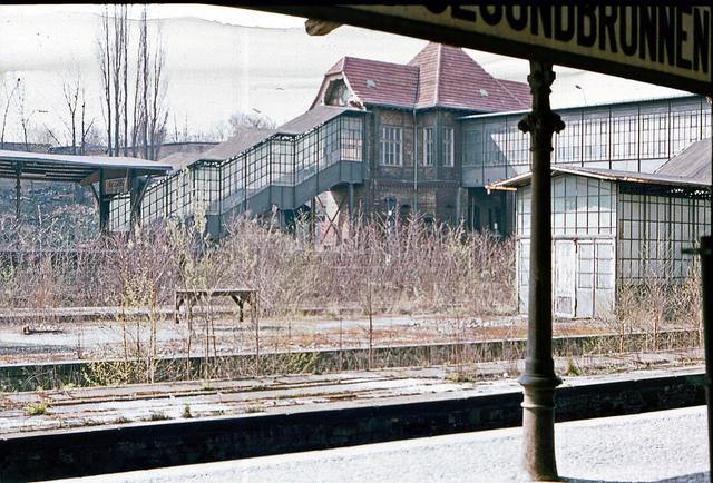 Bahnhof Berlin-Gesundbrunnen 1982