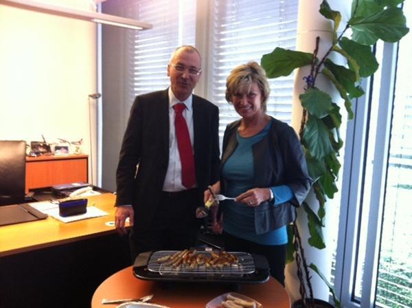 Volker Beck (Grüne) und Dagmar Wöhrl (CSU)