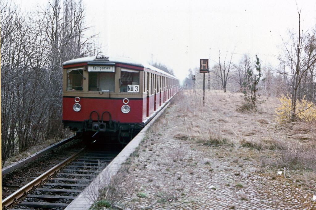S-Bahn Heiligensee 1982