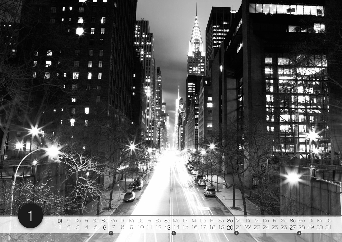 New York-Kalender 2013 von Tokography