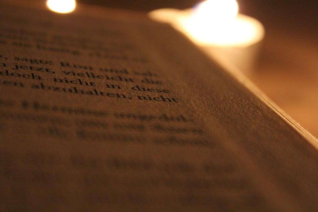 Stimmungsvoller Lesegenuss