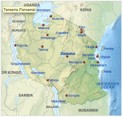 Tansania (CC BY-SA)