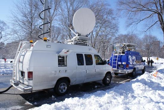 TV-Liveberichterstattung vom Rodelberg