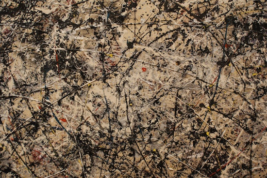 Pollock im MoMA