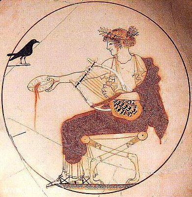 Apollon und der Rabe