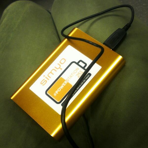 simyo Akku-Pack (Powerstation)