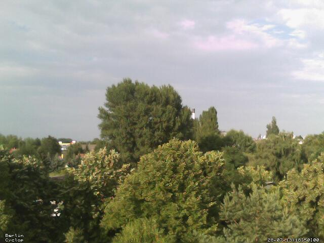Blick aus dem Fenster mit der alten Webcam