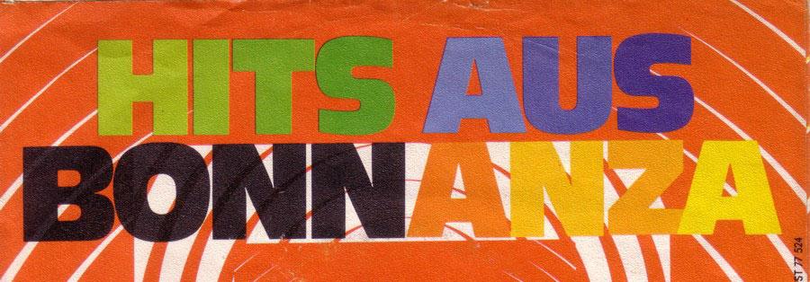 Hits aus Bonnanza (Cover-Ausschnitt)
