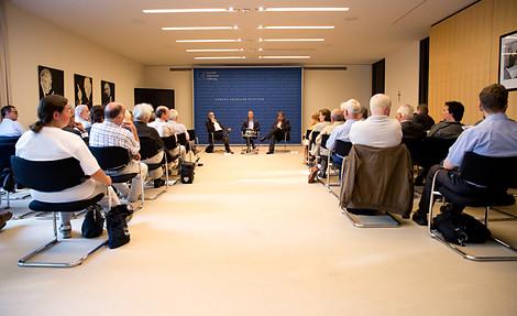 Die Mitautoren der Broschüre bei der Diskussion in der Akademie der Konrad-Adenauer-Stiftung